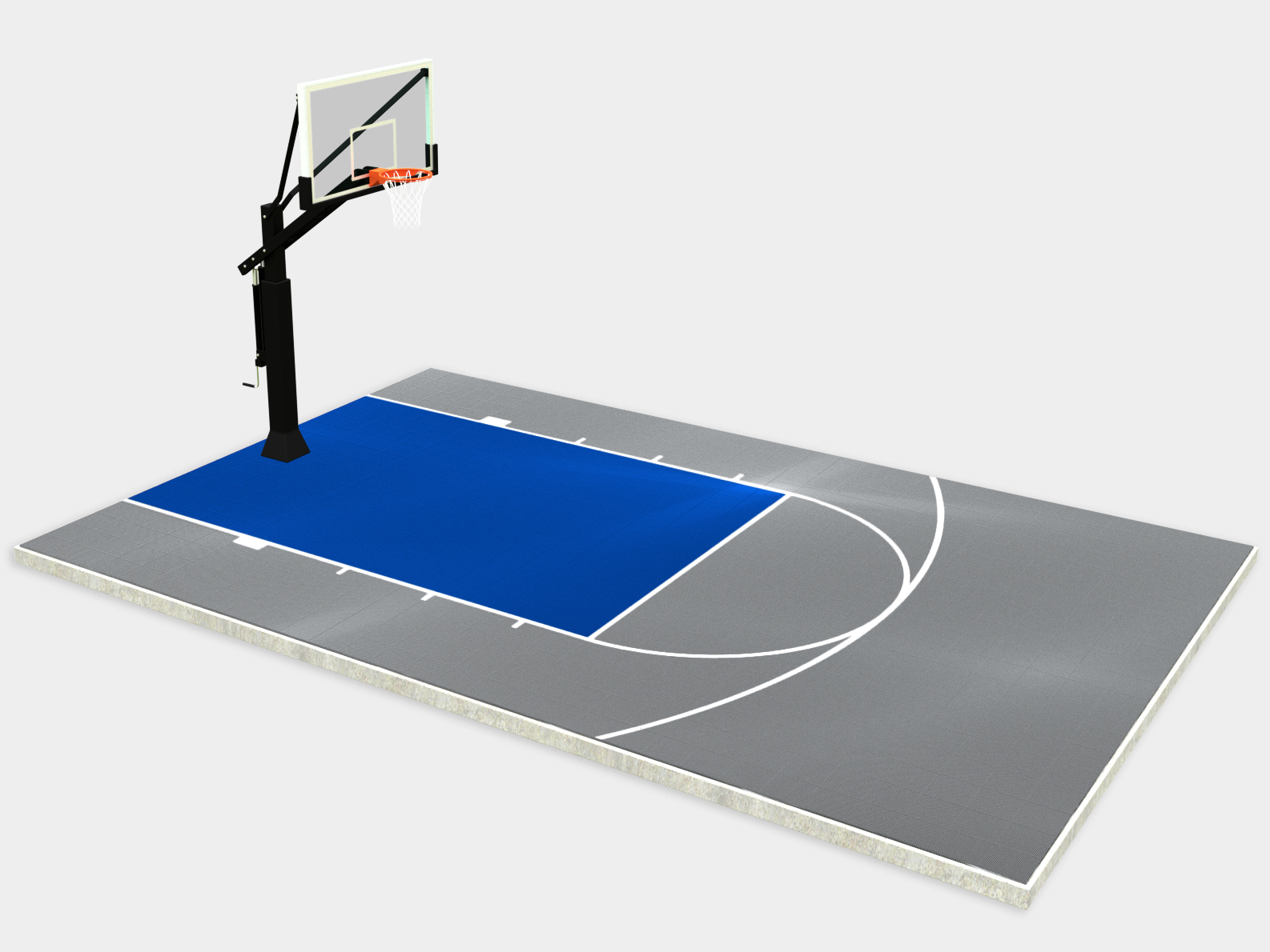 20' x 30' Basketball Court