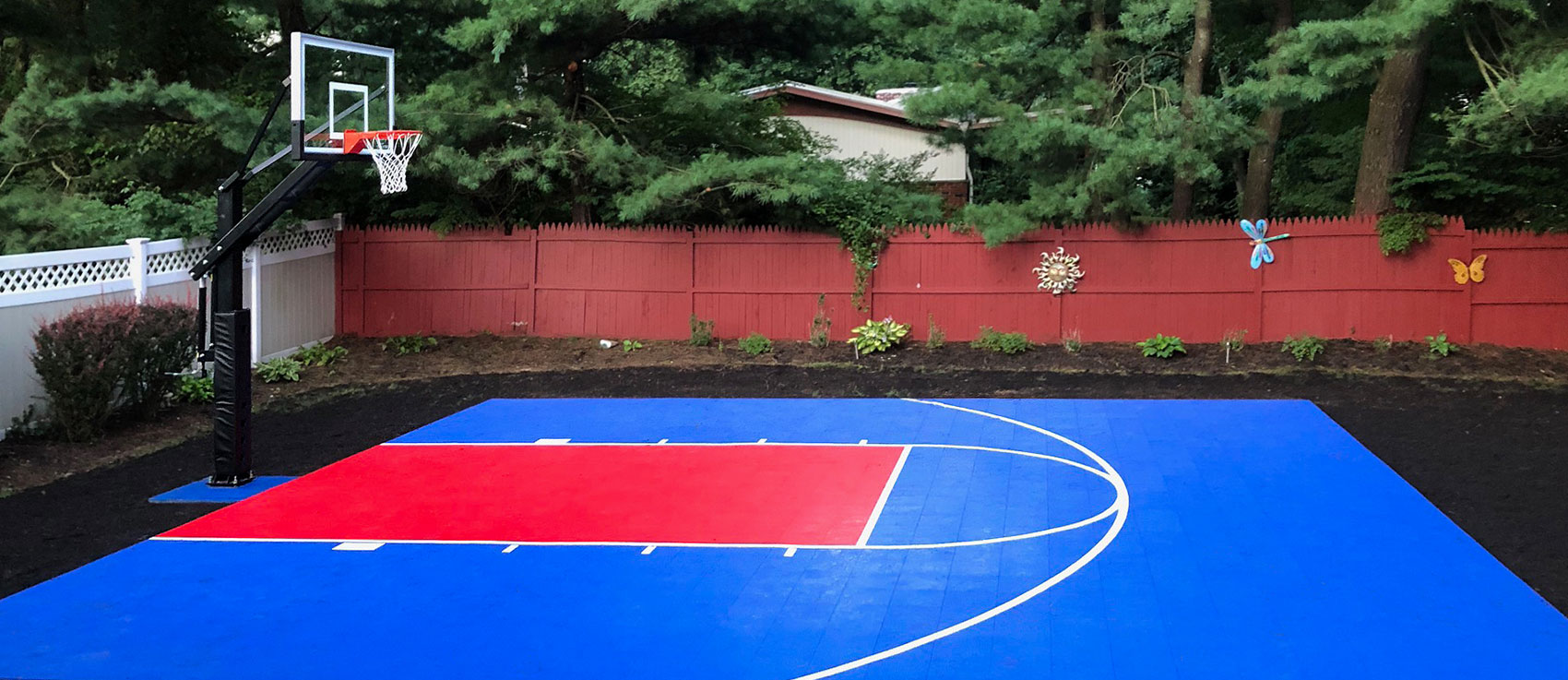 DIY Backyard Courts