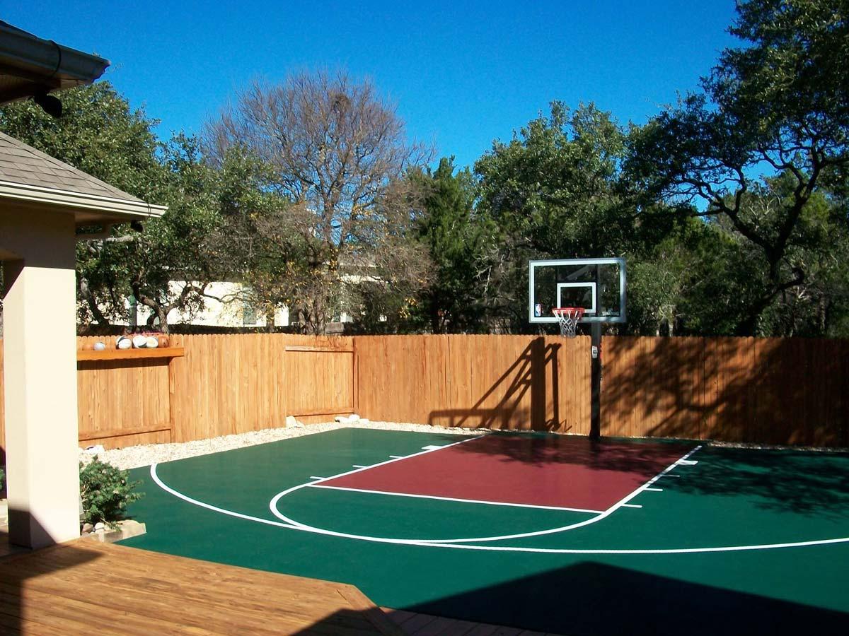 30 X Basketball Court Dunkstar