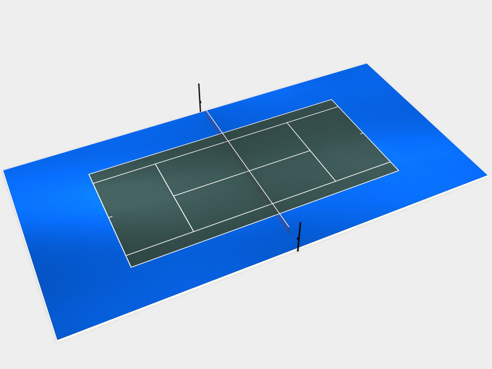 DunkStar 120' x 60' Tennis Court