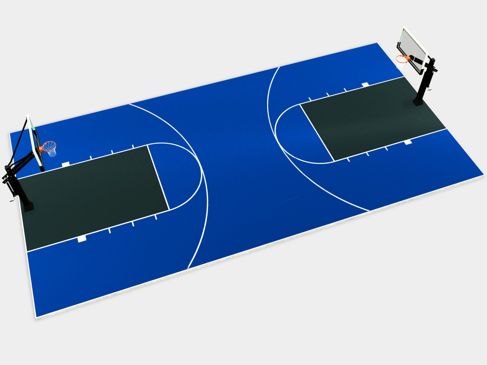 60' x 30' Basketball Full Court