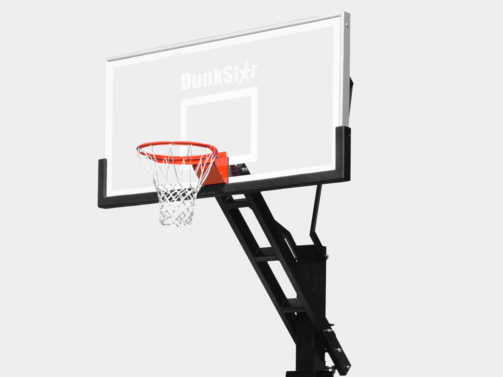 "72"" Backboard Basketball Hoop"